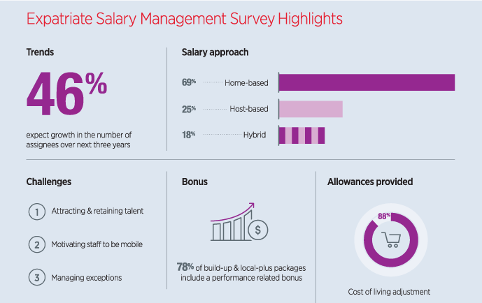 Expatriate Salary Management Survey highlights